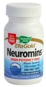 Nature's Way DHA EfaGold® Neuromins® 30 cápsulas
