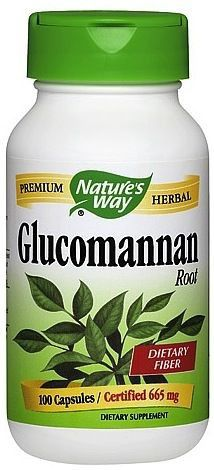 Nature's Way Glucomanano 100 cápsulas