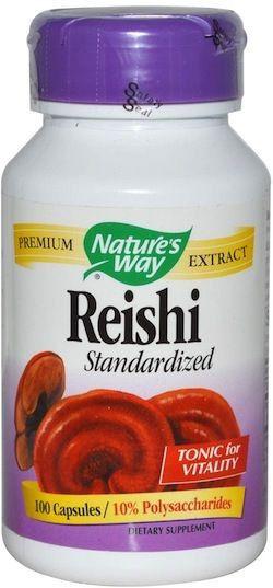Nature's Way Reishi Estandarizado 100 cápsulas