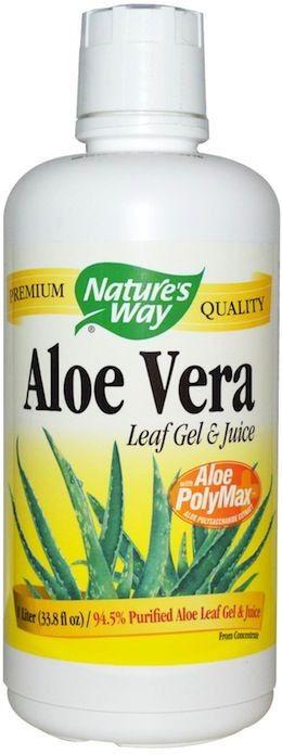Nature's Way Zumo y Gel de Aloe Vera 1 Litro