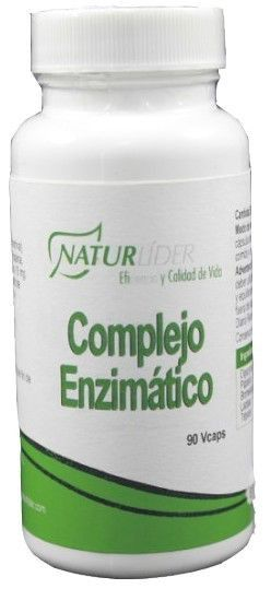 Naturlider Complejo Enzimático 90 cápsulas