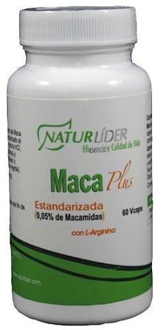 Naturlider Maca Plus Estandarizada 60 cápsulas