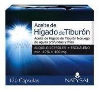 Natysal Aceite de Hígado de Tiburón 120 perlas