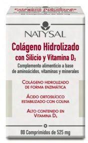 Natysal Colágeno con Silicio y Vitamina D3 80 comprimidos