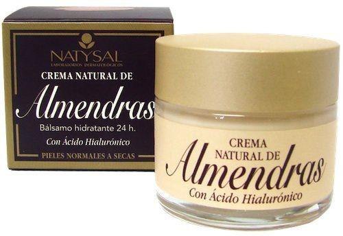 Natysal Crema Facial de Almendras 50ml