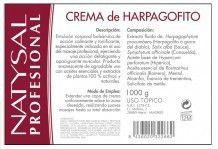 Natysal Crema Harpagofito 1Kg