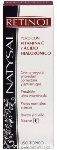 Natysal Crema Retinol Antiarrugas 50ml