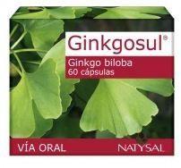 Natysal Ginkgosul 60 cápsulas