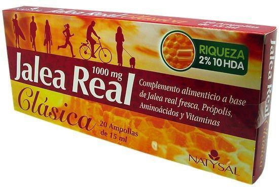 Natysal Jalea Clásica 20 ampollas