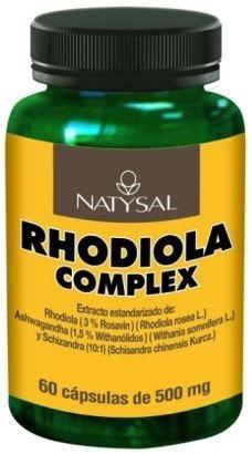 Natysal Rhodiola Complex 60 cápsulas