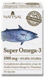 Natysal Super Omega 3 30 perlas