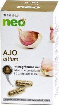 Neo Ajo Microgranulos 45 cápsulas