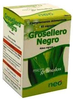Neo Grosellero Negro Microgranulos 45 cápsulas
