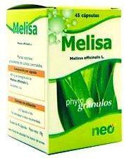 Neo Melisa Microgranulos 45 cápsulas