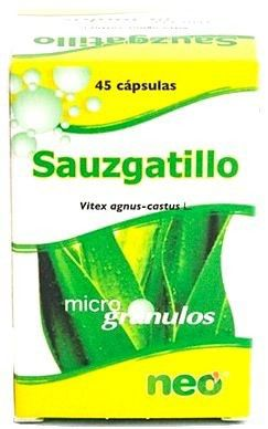 Neo Sauzgatillo Microgranulos 45 cápsulas