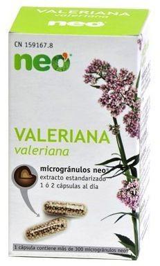 Neo Valeriana Microgranulos 45 cápsulas