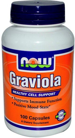 Now Graviola 100 cápsulas