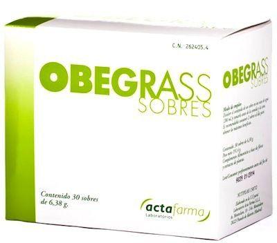 Actafarma Obegrass 30 sobres
