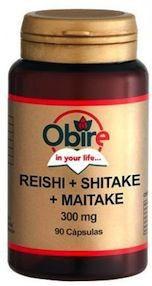 Obire Reishi Shitake Maitake 90 cápsulas