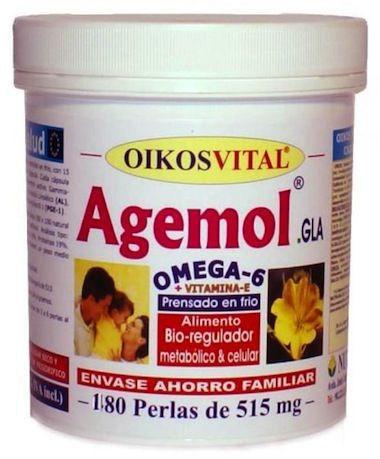 Oikos Agemol Oikos Omega 6 180 perlas