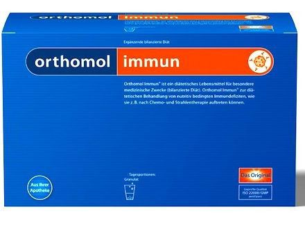Orthomol Immun 15 sobres granulados
