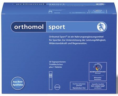Orthomol Sport 30 ampollas