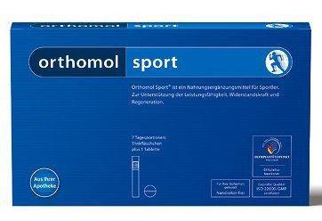 Orthomol Sport 7 ampollas