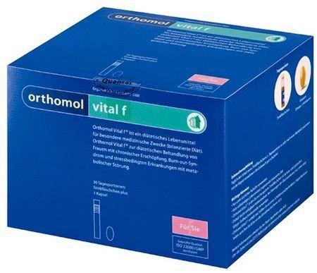 Orthomol Vital F 30 ampollas