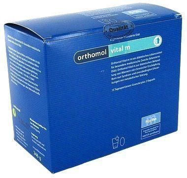 Orthomol Vital M 15 sobres granulados