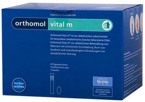 Orthomol Vital M 30 ampollas