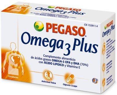 Pegaso Omega 3 Plus 40 cápsulas
