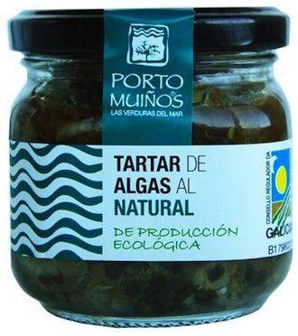 Porto Muiños Tartar de Algas al Natural Bio 150g