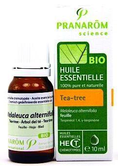 Pranarom Árbol del Té Hoja Aceite Esencial BIO 10ml
