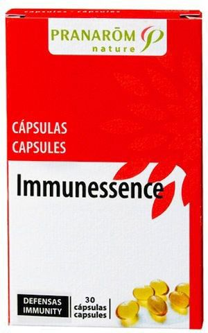 Pranarom Inmunessence Defensas 30 cápsulas oleoaromáticas