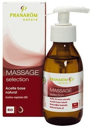 Pranarom Masaje Seleccion Aceite Base Natural BIO 100ml