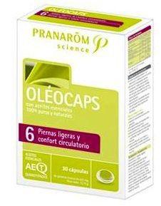 Pranarom Oleocaps 6 Piernas Ligeras 30 cápsulas