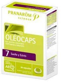 Pranarom Oleocaps 7 Sueño y Estrés 30 cápsulas