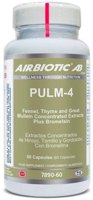 Airbiotic Pulm-4 60 cápsulas