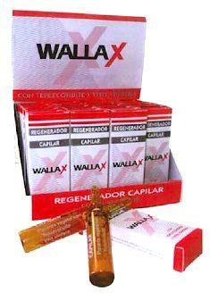 Wallax Farma Regenerador Capilar 40 ampollas