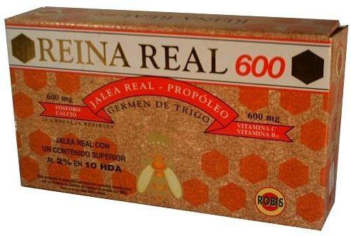 Robis Reina Real 600 20 ampollas