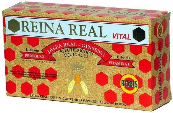 Robis Reina Real Vital 20 ampollas