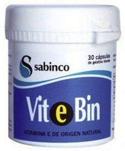 Sabinco Vitebin Vitamina E 30 cápsulas