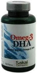 Sakai Omega 3 DHA 150 perlas