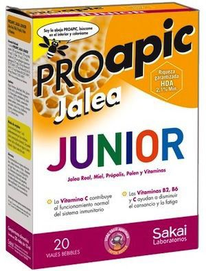 Sakai Proapic Jalea Real Junior 20 ampollas