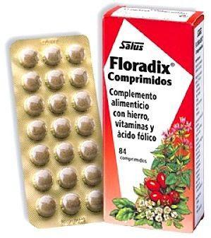 Salus Floradix Hierro 84 comprimidos