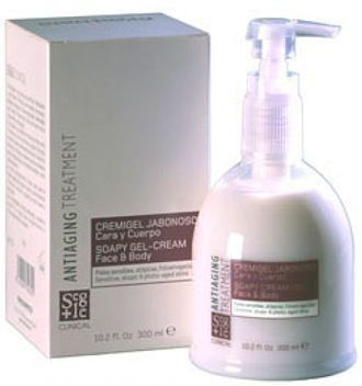 Segle Clinical Cremigel Jabonoso Cara y Cuerpo 300ml