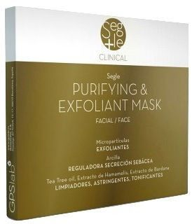 Segle Clinical Mascarilla Purificante Exfoliante 3 sobres