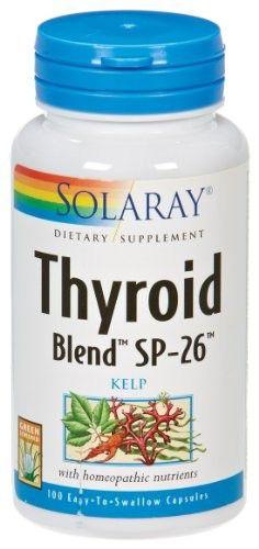 Solaray Thyroid Blend SP-26 100 cápsulas