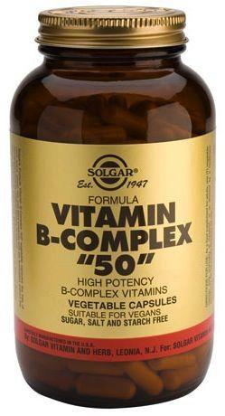 Solgar Vitamina B-Complex 50 100 comprimidos
