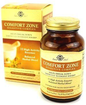 Solgar Comfort Zone - Complejo Digestivo 90 cápsulas